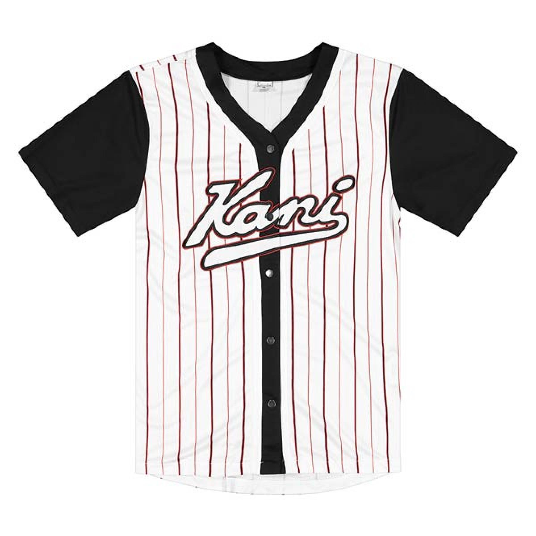 T-shirt Karl Kani Small Signature Logo Pinstripe