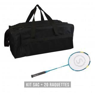 Racketset (tas + 20 rackets) Sporti France Discovery 66