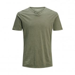 Jack & Jones T-shirt met gespleten hals