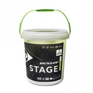 Lot van 60 tennisballen Dunlop stage 1