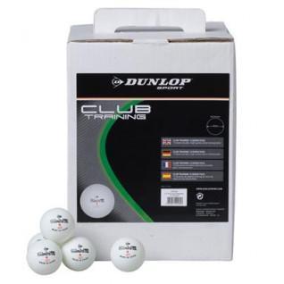 Tafeltennisballen Dunlop Club trainingsbox van 12