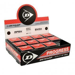 Squashbal Dunlop progress