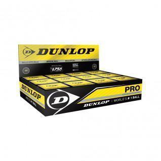 Set van 12 squashballen Dunlop pro