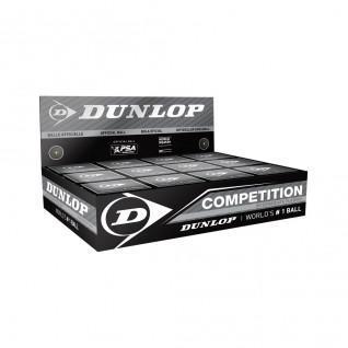Set van 12 squashballen Dunlop competition