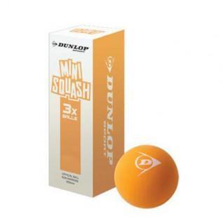 Set van 3 squashballen Dunlop play