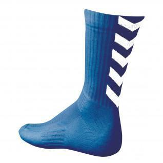 Hummel Authentieke Indoor Sokken - koninklijk/witte sokken