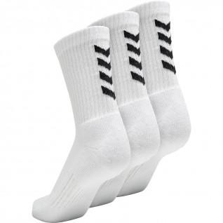 Set van 3 Hummel Fundamentele sokken