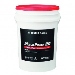 Tonnennisballen Yonex TMP-20 x60
