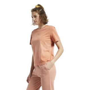 Reebok Klassiekers Gewassen Vrouwen Korte Mouwen T-Shirt