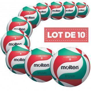 Set van 10 wedstrijdballen Gesmolten V5M4500
