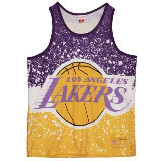 Tanktop Mitchell & Ness Jumbotron Mesh Los Angeles Lakers