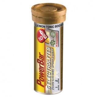 PowerBar-tabletten Elektrolyten 5- Citroen Tonic Boost-cafeïne (12X10 tabbladen)