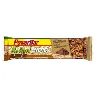 Pakket van 24 PowerBar Natuurlijke Energie Granen - Cacao Crunch bars