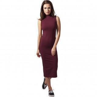 Urban Klassieke stretch turtlene jurk voor vrouwen