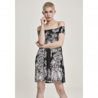 Damesstad Klassiek gerookte jurk