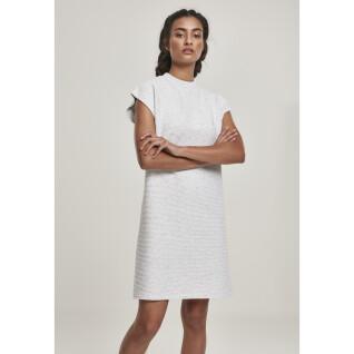 Women's Urban Klassieker dutje badstof uitgebreide jurk