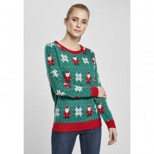 Sweatshirt vrouw Urban Classics santa kerstmis