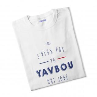 T-shirt vrouw Ya Yavbou die speelt